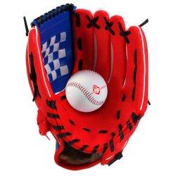 Set da baseball all'ingrosso con guanto da baseball in pelle sintetica per bambini