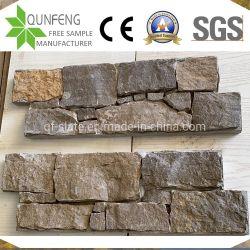 中国文化石碑、石灰岩の壁タイル、モザイクの顔
