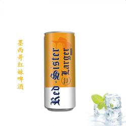 330 ml lege aluminium soda-popkan met Easy Open Einddeksel