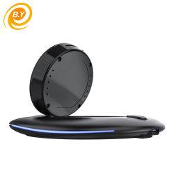 LED 가벼운 양립한 모두를 가진 보편적인 수정같은 Qi 무선 충전기 패드 지원 Qi 기술 이동 전화 무선 충전기