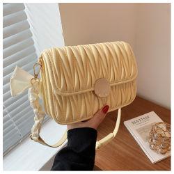 Fashion Crossbody Damas PU Round Lock Handmade 2021 Damas Crossbody Bolsas