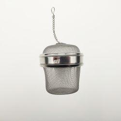 Edelstahl-Tee-Grobfilter Infuser Tee, der Kugel sperrt