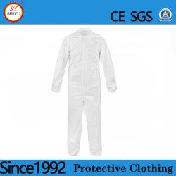3 camadas de protecção descartável fatos-macaco Vestuário de protecção descartável panos limpos