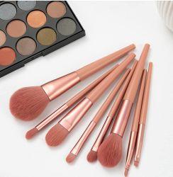 Shenzhen Professionnel OEM et ODM 10pcs Brosse brosse maquillage Poudre de collecte de fondation de l'outil de beauté