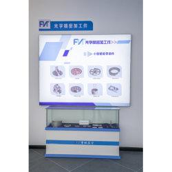 На заводе OEM на заказ Precision Черный анодированный алюминий фрезерного ЧПУ обработки деталей для оптических деталей Sp-284