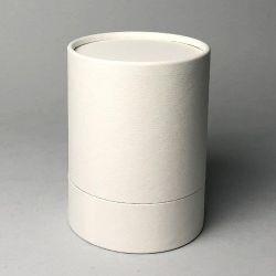 Best verkopende suiker opslag Craft Design sigaret Witte container CR Deksel verchroomde papieren verpakkingsbuis
