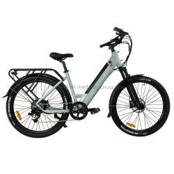 27.5 بوصة سيدات بالغين تخطو عبر مدينة E Bike Urban محرك أقراص بقوة 48 فولت بقوة 500 واط For Sale