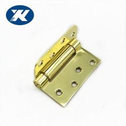 Eisen-goldene hölzerne Stahltür-einzelnes Vorgangs-Sprung-Tür-Innenscharnier