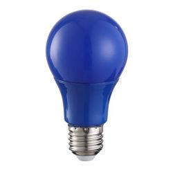 Le lampadine LED a colori A55 A60 5W decorano Lava Lampada 220V E27 E26 E22 3W giallo Blu Rosso Verde Colore