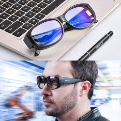 Marken-Form-Mann-Frauen-Computer-blaue helle Sicherheit Sunglass Sun Antigläser