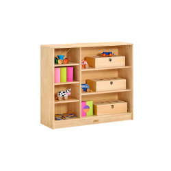 아이 나무로 되는 장난감 저장 내각, 아이들 장난감 저장 내각, 유치원 및 종묘장 데이케어 학교 가구