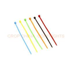Cable de Plástico Material de soporte de Clip de pinza de sujeción del cable de tamaño varía Bridas de nylon