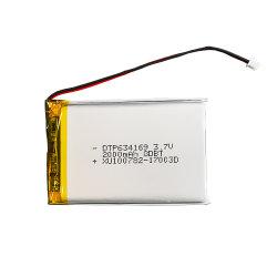 3.7V de elektrische Camera 2000mAh Op batterijen van de Batterij Dtp634169 van de Autoped