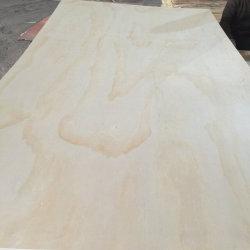 Cc grado 15mm de irradiar la estructura de madera de pino Pino de contrachapado de madera contrachapada de exterior