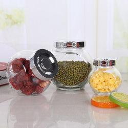 Contenitore in vetro vasetto per alimenti vasetto per spezie vasetti in vetro