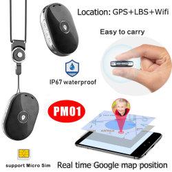 Mini portatile impermeabile 2g GSM GPRS GPS posizione auto GPS Navigazione