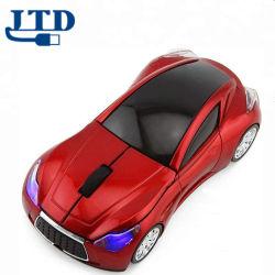 차가운 스포츠 3D 차 모양 무선 광학 마우스