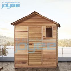 Huis van de Sauna van de Zaal van de Sauna van de Ceder van Italië Canada het Houten Openlucht met de Verwarmer van het Fornuis van de Steen van de Sauna Harvia