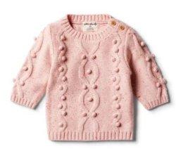 Chili Fleck вязаные детские свитера перемычку с Baubles