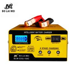 Industriële Lader van de Batterij van de Hoge Macht Slimme 6 V 12 Lader van de Batterij van het Lood Ah van V 6-200 de Zure