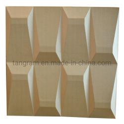 壁の装飾3Dの壁紙、内壁デザイン、防音の革パネル