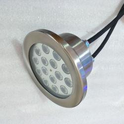 Wasserdichtes 12V 24V 12W 18W RGB Licht des Farben-Änderungs-Musik-Wasser-Brunnen-LED