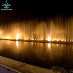 Buse de gaz à grande échelle de la mer de plein air de la musique de danse de l'eau des fontaines