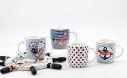 Logo personnalisé Tasse en céramique de gros bon marché de la céramique Mug promotionnel Factory
