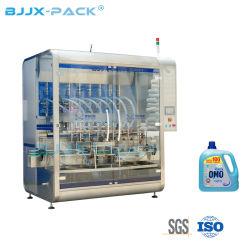 زيت التشحيم القابل لإصدارات الزجاجات البلاستيكية والسوائل ذات الضغط الخطي التلقائي ماكينات تعبئة التعبئة لماكينة التعبئة