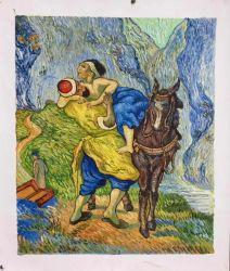 Reprodução de obras-primas de Van Gogh pinturas a óleo sobre tela