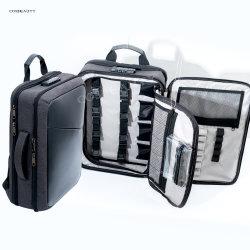 Новый дизайн Koncai парикмахерский салон и парикмахерский салон в случае сумка для ноутбука Professional Парикмахерская макияж парикмахерская рюкзак для хранения