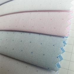 أوكازيون ساخن منسوج عادي أبيض تبوك 65/35 مدرسة قماش القمصان