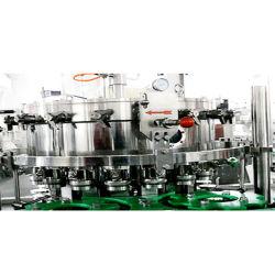 ألومنيوم آلي يمكن صنع البيرة آلة / فاكهة لمنع تسرب الحشوة مصنع معالجة العصير / نظام تغليف المشروبات