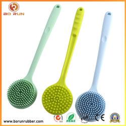 Op maat gemaakt waterbestendig, duurzaam siliconenrubber borstel voor het schoonmaken van huishoudens