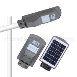Все в одном из дорожного освещения на улице солнечной энергии 20W 40W 60W солнечной улице светодиодный индикатор светодиодный индикатор