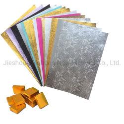 Película de papel de aluminio para el chocolate y Chicles embalaje