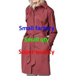 Luz de moda à prova de peso e costura aerada com fita soldada jaqueta de avental
