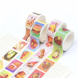 Waterdichte Sticker die van de Druk van het Embleem van de douane de Moderne Band Washi maskeren