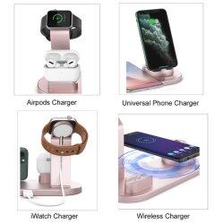 Envio gratuito telefone Suporte Universal Mobile Pad na Tabela 31 com suporte sem fio Maçarico de carga 15W Carregando Qi Carregador Sem Fio