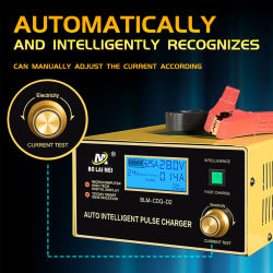 12V 24V Volt Auto Moto universel voiture intelligente de plomb-acide automatique chargeur de batterie