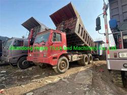 Camión volquete de minería de 70 Ton utiliza 371cv y 420CV Sinotruk 6X4 Volquete Camión Volquete de minería de datos