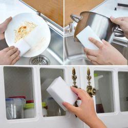 La esponja de limpieza de espuma de goma de borrar Scrubber increíbles productos de limpieza hogar Herramientas de limpieza