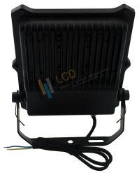 블랙 50W 고출력 140lm/W 자연광 및 RGB LED 플러드 라이트 240V LED, RS 4000/피스 LED 조명 - 실외등