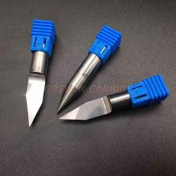 O carboneto de GW - Fundo Plano gravura PCB Bits CNC precisas ferramentas do roteador