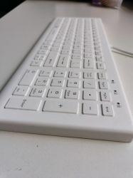 IP68 резиновые моющиеся Disinfectable водонепроницаемый проводной промышленного медицинского силикона проводной игр Keyboardkeyboard стандартные планшетные клавиатуры