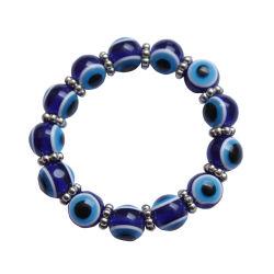 A nova resina acrílica Senhoras Bracelete Jóias Bangle mal Olhos Cordão
