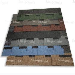 경량 지붕재 아스팔트 조각글 지붕 코팅 색상 석재 칩 지붕이 있는 건물 탑 녹 방지용 시트