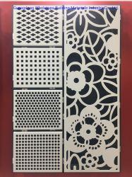 Muster geschnittenes festes Aluminiumpanel-Aluminium-Panel