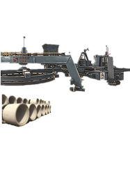 Usine vibration verticale double Pirce positionner les tuyaux de béton Making Machine 800-3600/2,5m