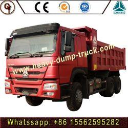 Hete Prijs Sinotruk HOWO de Vrachtwagen van de Stortplaats van de Vrachtwagen van de Kipper van 336 PK 6X4 voor Nieuw en Gebruikt